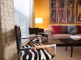 zebra print armchairs