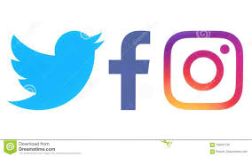 facebook and twitter logo jpg. Logos De Facebook Twitter Et Instagram Inside And Logo Jpg