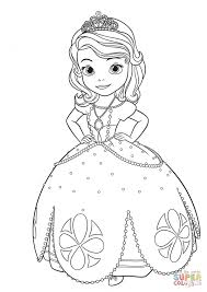 Princess Sofia Colouring Pages Pdf Amber Coloring Online Games