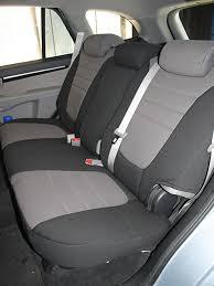 hyundai santa fe standard color seat covers rear seats
