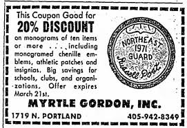 Myrtle Gordon Inc. newspaper coupon - Newspapers.com