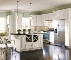 Montella off-white painted kitchen cabinets in French Vanilla ...
