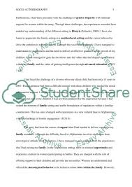 socio autobiography essay example topics and well written essays  socio autobiography essay essay example