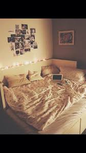 tumblr girl bedroom ideas. A Lityle Different Style And This Is An Awedome Idea For Bed! Omg My Next Place Has To Have This-- Basically What Bed Looks Like Tumblr Girl Bedroom Ideas