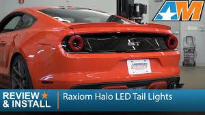 2017 Mustang Lights S550 Mustang Raxiom Taillight 2015 2017 Mustang Raxiom