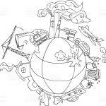 Earth Day Coloring Pages Pages à Colorier Faciles Free Earth Day