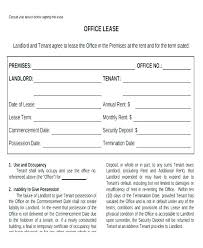 Lease Agreement Template Ontario Commercial Lease Sample Template
