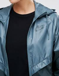 women nike full zip windbreaker jacket ta seaweed seaweed women jackets