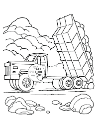 free truck coloring pages construction vehicles coloring pages construction truck coloring pages page free tow dump