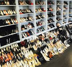 rachel zoe s shoe collection is so large it s overtaking her closet floor image instagram