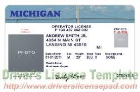 Michigan Mi Psd - Fake License Drivers