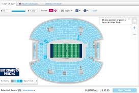 Dallas Cowboys Seating Chart How Much Are Dallas Cowboys Tickets Draft News