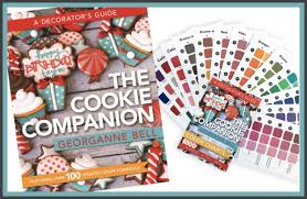 The Cookie Companion Color Charts The Cookie Companion Cookie Cutters