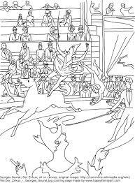 George Seurat Le Cirque Famous Paintings