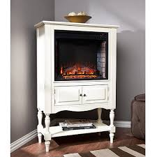 Pennsman Electric Fireplace Tower Antique White  WalmartcomWalmart Electric Fireplaces