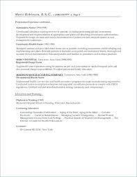 Objective In Resume Nurse Best of Objective For Nursing Student Resume Registered Nurse Sample