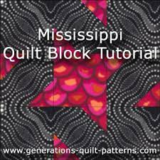 Mississippi Quilt Block: Step-by-Step Tutorial, 4 sizes & Mississippi quilt block tutorial Adamdwight.com