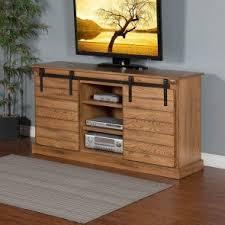 sedona 65 inch barn door tv console