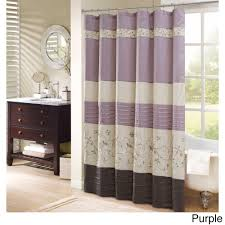 floral shower curtain. Madison Park Belle Faux Silk Embroidered Floral Shower Curtain - Free Shipping On Orders Over $45 Overstock.com 15854515
