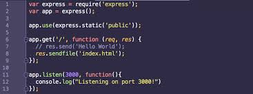 Serving Static Content with Node.js and Express