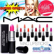 Labiales Mac Mate Seco Nude Diva Candy Negro Azul Heroine Bs.
