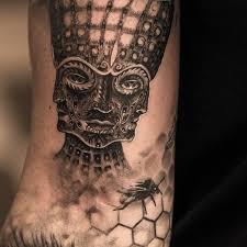 wood tool tattoos. geometric tattoo design wood tool tattoos t