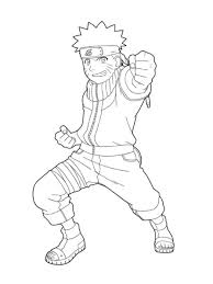 Naruto Coloring Pages For Kids Cartoon Coloring Pages Of