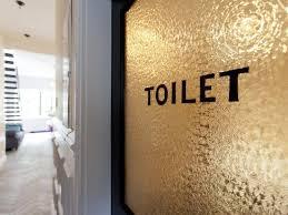 school bathroom door. Toilet. Genevieve Gorder\u0027s Bathroom Door In Her NYC Brownstone School E
