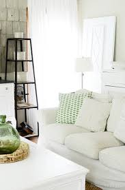 Living room with farmhouse style