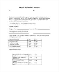 Rental Reference Letter Templates Free Sample Example Intended On ...