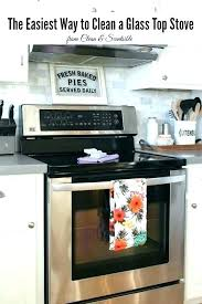 cleaning glass top stove with baking soda glass top stove ser cleaning glass top stove with