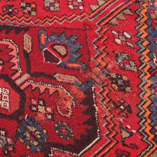 vintage persian rug fl design hand knotted runner rug red rug