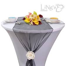 Details About 20pcs Organza Table Runners 14x108Cocktail Party Decorations Ebay