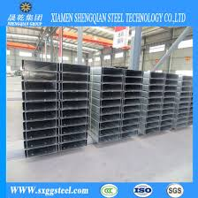 Galvanized Cold Formed Steel C Purlins For Roof Wall Support