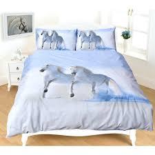 beach themed bedding australia white horses doona bed setbeach duvet covers sets