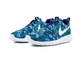 Nike Pattern Shoes Awesome Up To 48% Off Nike Roshe One Print PREM Shoes BluePattern Men Nike
