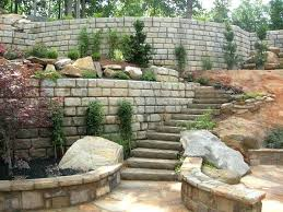 redi rock retaining wall residential landscape ideas by rock international home landscaping rock retaining wall new