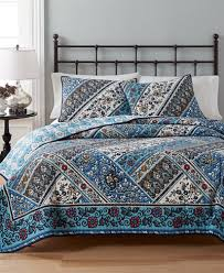 CLOSEOUT! Martha Stewart Collection Antique Market Reversible ... & Martha Stewart Collection Antique Market Reversible Quilt and Sham  Collection, Created for Macy's Adamdwight.com