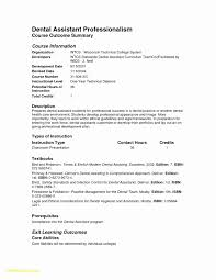 Dental Assistant Job Description Resume New Cna Resume Examples Best