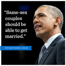 Barack obama gay right