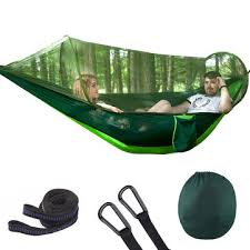 outdoor automatic quick open <b>portable camping hammock</b> with ...