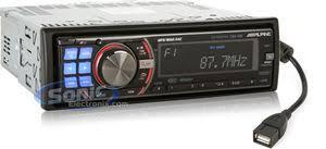 alpine cda 105 (cda105) cd, mp3, wma receiver with built in ipod alpine cda 9883 aux setup at Alpine Cda 9883 Wiring Diagram