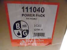 bell gossett industrial electric water mro pumps bell gossett 111040 power pack pump motor 1 4 hp 1725 rpm 115v 3 0 amp new