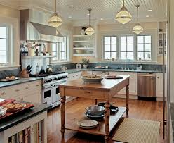 Interior:Modern Farmhouse Cottage Cottage Style Kitchen Design With Wooden  Floor Idea Clean And Neat