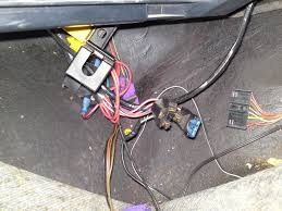 fuel pump relay wiring passionford the existing fuel pump relay yellow and the new fuel pump relay purple