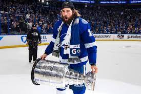Stanley Cup got dented