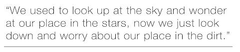 interstellar quote