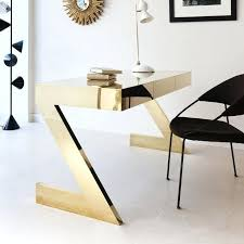 incredible unique desk design. White Desk With Gold Legs Amazing Unique Office Desks Furniture Wood Executive Elegant For Home Incredible Design A