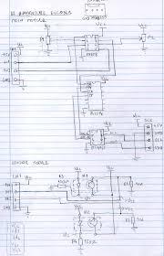 creation factory quadrature encoder a hand made schematic diagram describes the solution