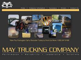 May Trucking Company Competitors Revenue And Employees